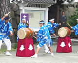 祇園太鼓の様子